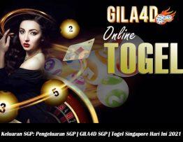 Keluaran SGP Pengeluaran SGP GILA4D SGP Togel Singapore Hari Ini 2021